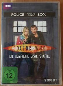 BBC DVD BOX Dr. Who Christopher Eccleston 9. Doctor Erste 1. Staffel (no BluRay)