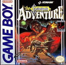 Castlevania Adventure Game Boy