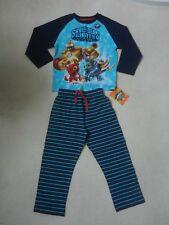 BNWT M&S Boys Skylanders PJ's Pyjama's 3-4 Years Bouncer Gill Grunt Hot Dog