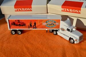WINROSS FORD F SERIES 50 YEAR #1 1948 1998 SEMI TRACTOR TRAILER TRUCK Diecast 13