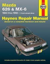 1983-1992 Haynes Mazda 626 & MX-6 Repair Manual