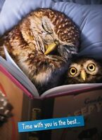 Avanti Owls Thanks Dad Cute Father's Day Greeting Card Photo Cards