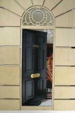 Diorama DOOR open Sherlock Baker Street 221B for Dolls House 1/6 FR Barbie