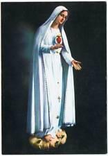 Postal Virgen de Fátima