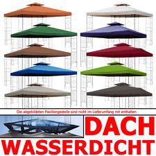 Pavillondach WASSERDICHT (Option) ERSATZDACH Ersatz Dach wasserfest PVC ~ 3x3m