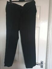 "Mens Black Trousers Size 32"" Waist By M&S"