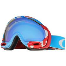 Oakley 59-572 A Frame 2.0 1975 Red Blue w/ HI Yellow Lens Snow Ski Goggles .