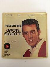 Blechschild Presenting Jack Scott, Postkarte