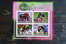 Insetti 11 Insects bombi bumblebees Gabonaise 2017 ANIMALI ANIMALS fauna ** MNH