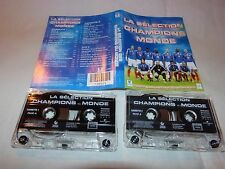 ZAZIE - HALLYDAY - DALIDA - GAYNOR - K7 audio / tape !!! FOOTBALL !!