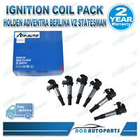 6 PCS for Holden Commodore VZ V6 Ignition Coil Caprice Statesman WM WL 3.6L
