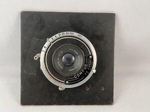 "Vintage Compur Shutter C.P. Goerz 3 5/8"" F/8 W. A. Dagor"