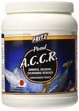 New listing Fritz Pond A.C.C.R. Dry 4 lb Powder Ammonia Chlorine Chloramine Remover