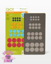 "Accuquilt GO! Fabric Cutter Die Circle 1/2"", 3/4"", 1"", & 1/4"" Quilt Sew 55484"