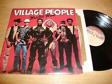 Village People - Macho Man - LP Record  VG+ VG+