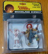 Woodland Scenics G Scale #2539  -  Fireman Bill & Betsy