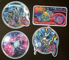 Lot of 4 Vince Ray Sticker rockabilly hot rod Big daddy roth rat fink style