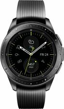 Samsung Galaxy Watch 42mm Stainless Steel - Midnight Black - Bluetooth - VG