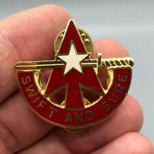 US Army 32nd ADA Command DUI VAN MIU CB DI Pin Badge Unit Crest 985R