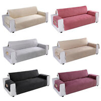 Waterproof Quilted Sofa Cover Slipcover Pet Dog Couch Furniture Protector Mat