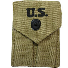 M1923 Colt Ammo Pouch - Repro WW2 US American Twin Webbing Magazine Mag Carrier