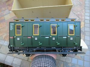 Vintage LGB (Lehmann), Model Train Passenger Car # 3050