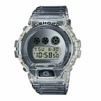 NEW G-Shock Men's Clear Skeleton Grey Digital Water Resistant Watch DW6900SK-1