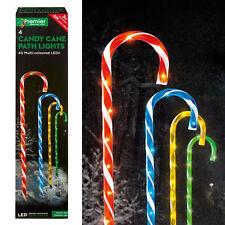 Premier 4 Pièces Sucre de Canne Voie Lumières avec Led - Multicolore