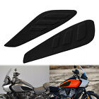 Motorcycle Fuel Tank Knee Pad Tank Side Panels Protector Stickers Fit For Harley