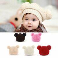 Toddler Kids Girl&Boy Baby Infant Winter Pompom Crochet Knit Hat Beanie Cap 0-3Y