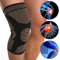 Knee Sleeve Compression Brace Support Pad For Sport Joint Pain Arthritis Relief