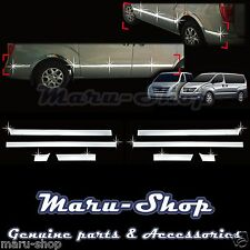 Chrome Door Side Skirt Cap Cover Trim for 07+ Hyundai H-1/iLoad/iMax/i800