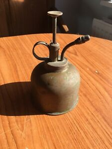 Vintage Brass Orchid Watering Spray Can - Good Working Condition