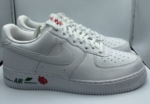 Nike Air Force 1 '07 LX Rose Leather White University Red CU6312-100