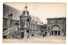 Haute Vieille Tour - Rouen Photo Postcard c1908