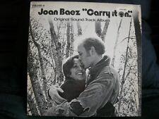 VINYL 33T – JOAN BAEZ – CARRY IT ON – BOF OST – VANGUARD FR 1971