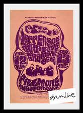 Grateful Dead- Jefferson Airplane Concert Handbill 1966 Ca Signe Anderson Rare