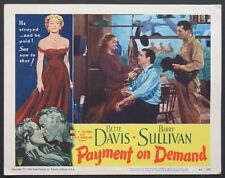 PAYMENT ON DEMAND BETTE DAVIS BARRY SULLIVAN LOBBY CARD 6