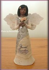 SPECIAL GRANDMA EBONY ANGEL FIGURINE BY PAVILION ELEMENTS FREE U. S. SHIPPING