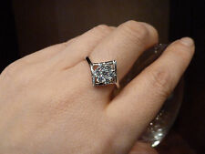 925 Sterling silver size6, 6.5,  7 Ring, Quality AAAAA grade CZ stones, NWT