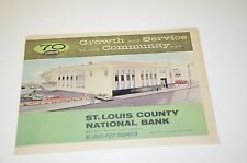 1960 St Louis County Bank Sales Ad Ads Newspaper Brochure Insert 70 Years
