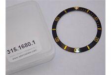 Inserto ghiera Rolex Submariner nera indici oro lunetta 1680 Bezel insert watch