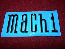 NEW 2003 2004 FORD MUSTANG MACH 1 TRUNK LETTERING EMBLEM BADGE SET M A C H 1 OEM