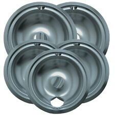 Range Kleen 16675X Style B Economy Plated Drip Bowls, 5 Pack