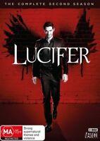 Lucifer : Season 2 (DVD, 3-Disc Set) NEW