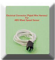 Mercedes 2003-2012 1X Connector of ABS Wheel Speed Sensor Front L//R ALS411 Fits