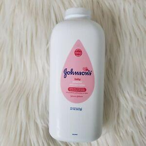 Johnson's Baby Powder 22 oz Pink Bottle Talc Talco Talcum Discontinued Rare