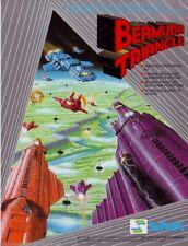 BERMUDA TRIANGLE By SNK 1987 ORIGINAL NOS VIDEO ARCADE GAME PROMO SALES FLYER