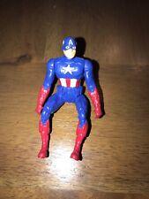 "2013 Captain America Riding Position 3.75"" Action Figure Avengers Marvel (1)!"