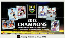 2012 Select NRL Champions Trading Cards Series Factory Box (36 Packs)